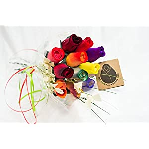 The Original Wooden Rose Bouquets in 1, 2, or 3 Dozen 3