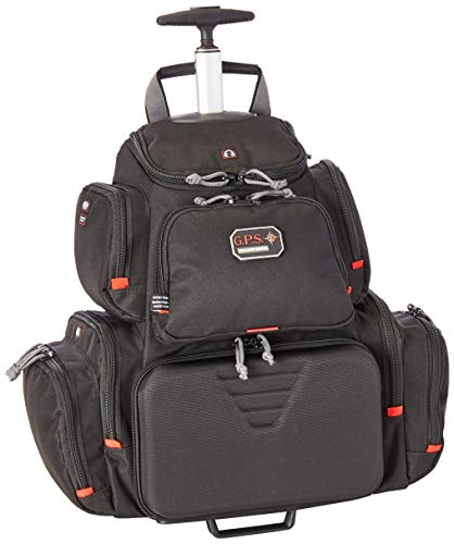 G5 Outdoors G.P.S. GPS-1711ROBP Rolling Handgunner Backpack, Black