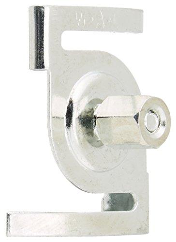 - WAC Lighting T-BARCLIP T-Bar Drop Ceiling Clip, Chrome, 1 PCS per Pack