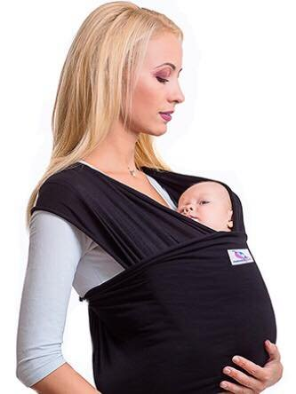 Amazon Com Baby Wrap Carrier Baby Sling For Infants Sturdy Baby