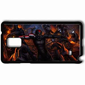 Personalized Samsung Note 4 Cell phone Case/Cover Skin Art Capt Shepherd Reapers Robot Battle Black