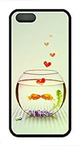 Goldfish BoCase For Samsung Note 4 Cover Case Funny Lovely Best Cool Customize Black Cover