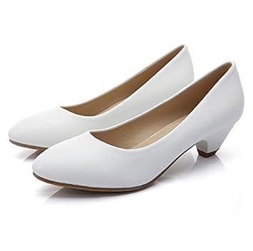 Herbst einzelne Schuhe mit niedrigem Absatz schuhe Dame