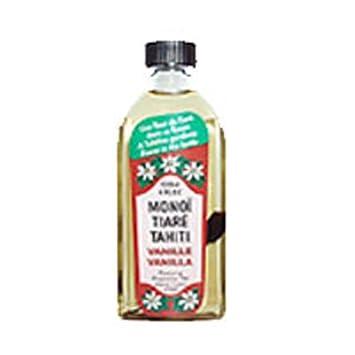 Monoi Tiare Tahiti Coconut Oil Vanilla – 4 Oz, Pack of 3