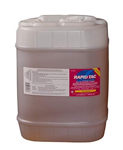 Rapid Tac Decal Application Fluid 5 Gallon Jug (640 Ounces) for Vinyl Wraps Autos Boats Signs Graphics Stickers by RapidTac (Image #1)