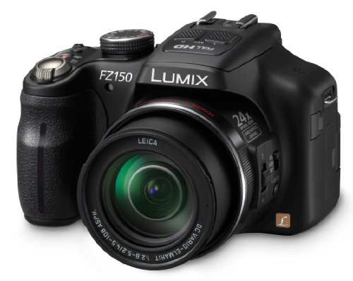 Panasonic DMC-FZ150K 12.1 MP Digital Camera with CMOS Sensor and 24x Optical Zoom (Black) (Discontinued by Manufacturer)
