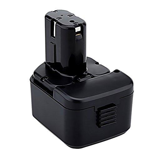 Hwazon 12V 3.0AH Power Tool Battery for HITACHI C5D CD4D CL13 DB12DM2 DH15D2 DH15DV DN12DY DN12DYK DN12Y DS10DTA DS10DVA DS12DM DS12DM2 DS12DV DS12DVB DS12DVB2 Compatible EB1215 EB1214S EB1220HS