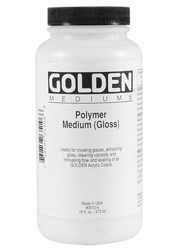 Acrylic Medium Golden Polymer Medium 16 oz