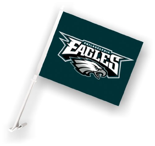 Sided Car Flag (NFL Philadelphia Eagles Car Flag)