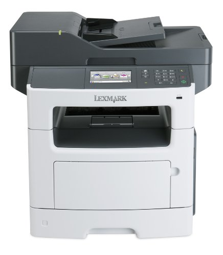 Lexmark MX511de Monochrome All-In One Laser Printer, Scan, Copy, Network Ready, Duplex Printing and Professional Features ()