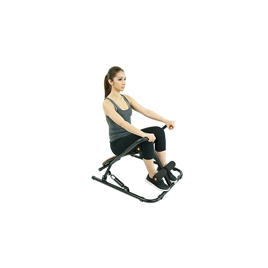 Sunny Health & Fitness SF RW1406 Sit Up Rowing Machine Rower