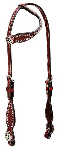 Weaver Leather Texas Star Flat Sliding Ear Headstall