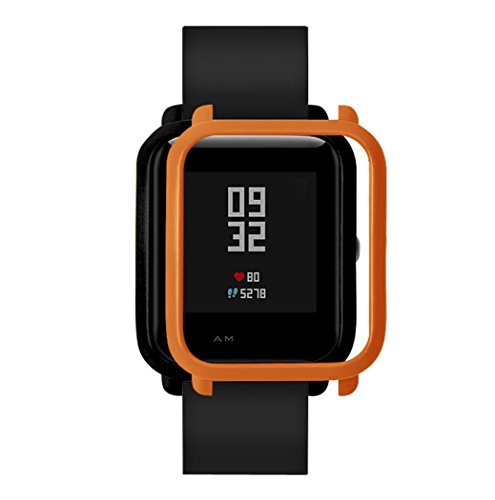 Kanzd Colorful Pc Case Cover Protect Shell For Xiaomi Huami Amazfit Bip Youth Watch  Orange