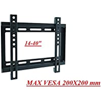 Gadget-Wagon Universal 14 15 17 18 22 24 28 30 32 36 37 Inhces LED, LCD & Plasma TV, Monitor Wall Mount Stand with 25 kgs Capacity