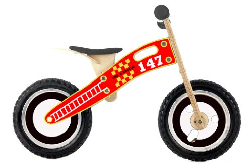 Smart Gear Fire and Rescue Balance Bike