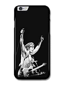 "AMAF ? Accessories Bruce Springsteen Microphone Black and White case for iPhone 6 Plus (5.5"")"