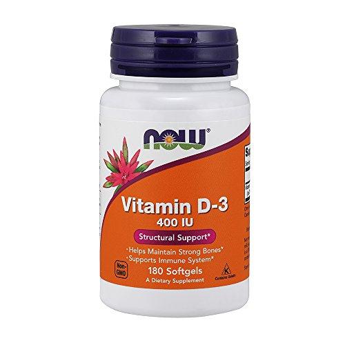 NOW Vitamin D 3 400 Softgels