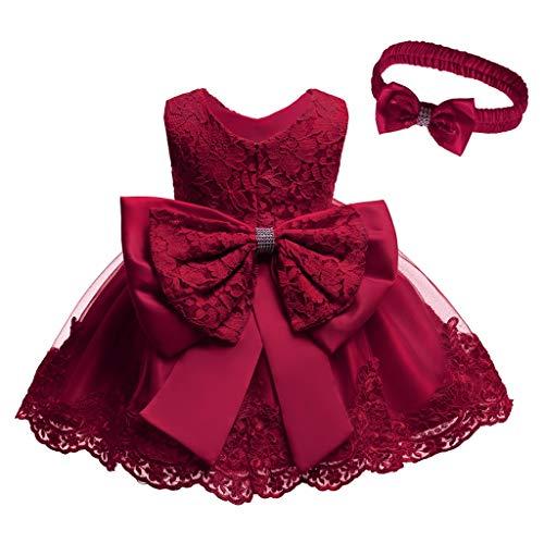 Holata Baby Girls Clothes Lace Bowknot Princess