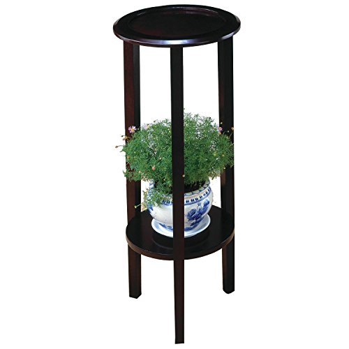 Coaster 900936 Plant Stand With Round Top, Cappuccino - Round Top Plant Stand