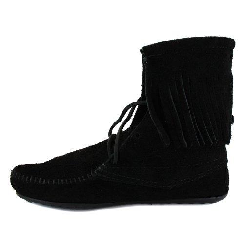 Minnetonka - Botas para mujer negro - negro