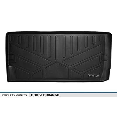MAXLINER All Weather Cargo Liner Floor Mat Behind 3rd Row Black for 2011-2020 Dodge Durango: Automotive