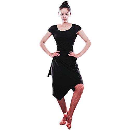 long black and leopard print dress - 9