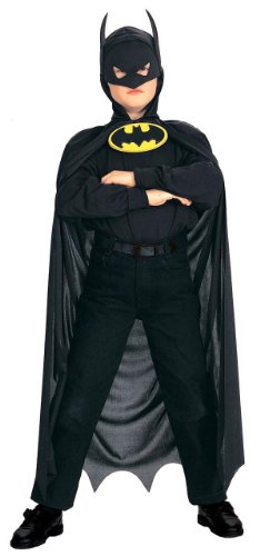 Kids Batman Hooded Costume Cape
