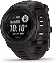 Garmin Instinct Rugged Outdoor Watch with GPS and Fitness & Wellness Software S