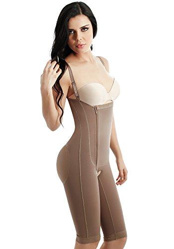 41d47544b58c5 Fajate Postsurgery Postpartum Colombian Bodyshaper Size 2xs Color Camel