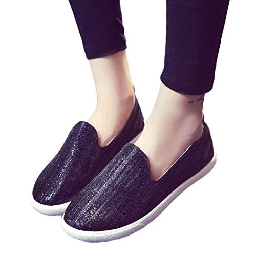 Pointed hollow out breathable flat sandals women black - 9