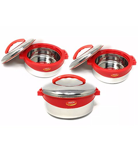 Stainless Casserole Set 3pcs. - 2