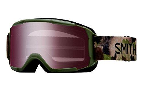 Smith Optics Daredevil Youth Junior Snowmobile Goggles Olive Haze / Ignitor Mirror