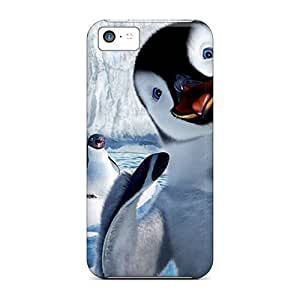 High-quality Durable Protection Case For Iphone 5c(happy Feet)