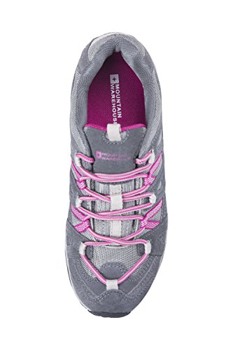 Mountain Warehouse Zapatos impermeables Direction para mujer Gris oscuro