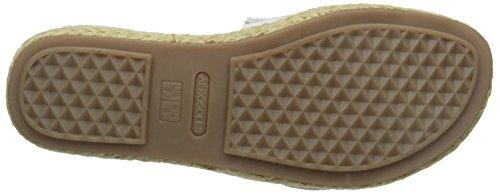 Aerosoles Donna Glorificare Sandalo Platform Sandalo Bianco