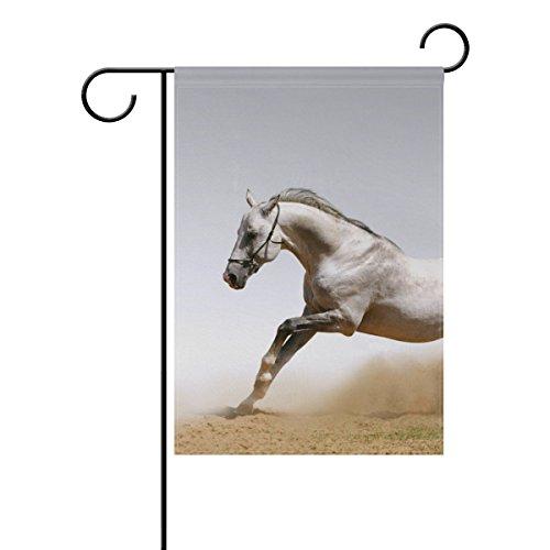 XiangHeFu Garden Flag Horse In Dust 28x40 Inches (28