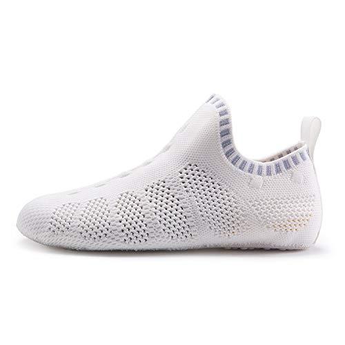 2019 Men Aqua Sock Shoes Women Quick Dry Walking Sneakers Indoor Yoga Sport Shoe Outdoor Wading Upstream Boating Footwear,Ivory,12