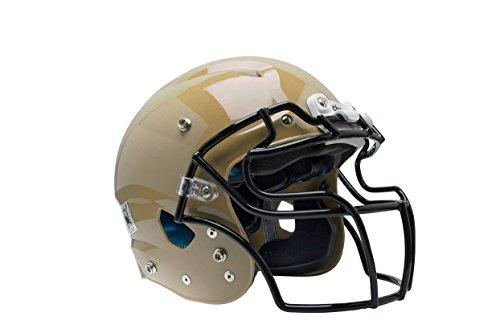 y Vengeance Pro Football Helmet(Faceguard Not Included), Metallic Vegas Gold, X-Large ()