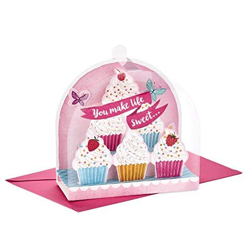Hallmark Paper Wonder Displayable Pop Up Birthday Card (You Make Life Sweet)