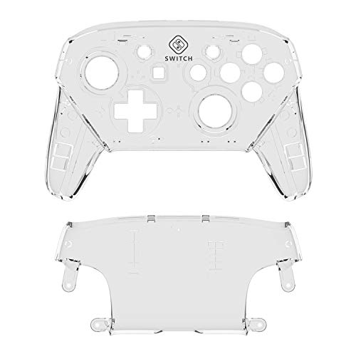 Yeegewin Replacement Shell Case for Switch Pro Controller, Colorful  Anti-Slip Hand Grip Shell Cover Super Switch DIY Faceplate and Backplate  Case