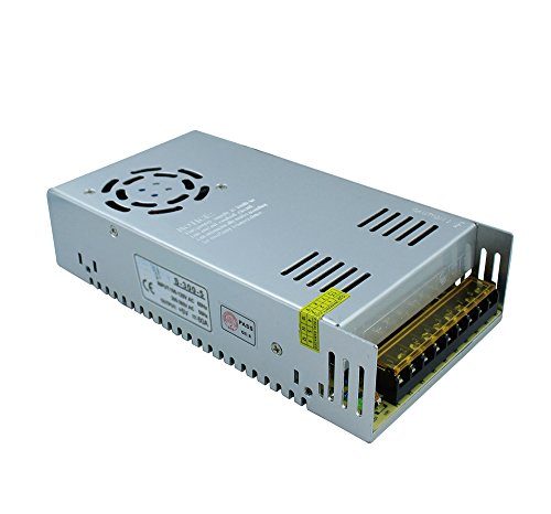 (Tanbaby 5V 60A DC Universal Regulated Switching Power Supply 300w for CCTV, Radio, Computer Project)