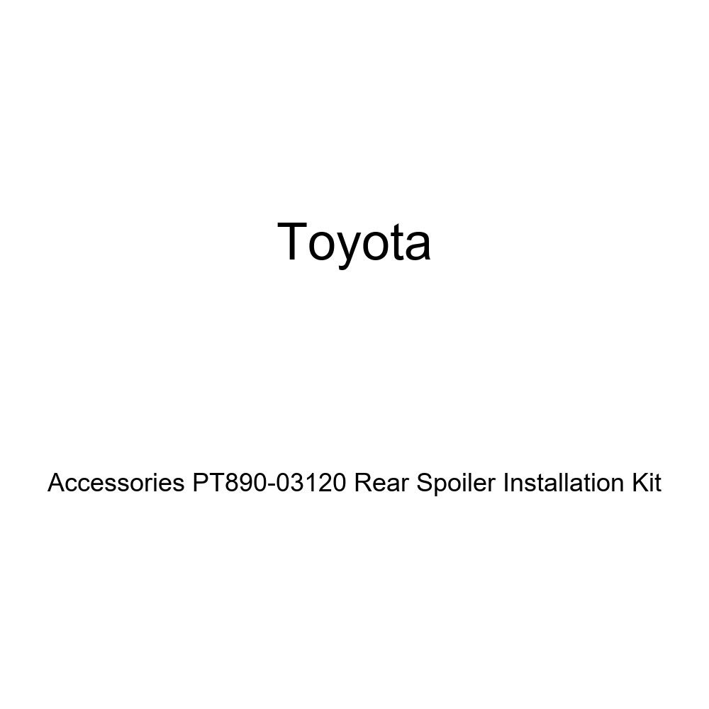 Genuine Toyota Accessories PT890 03120 Rear Spoiler Installation Kit