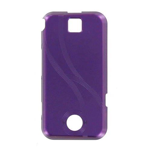 OEM Motorola A455 Rival Battery Door / Cover - Purple (Bulk Packaging)