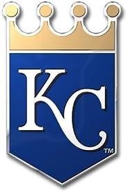 MLB Kansas City Royals Die Cut Color Automobile Emblem