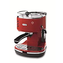 Delonghi ECO310R Icona Pump Espresso Machine, Red