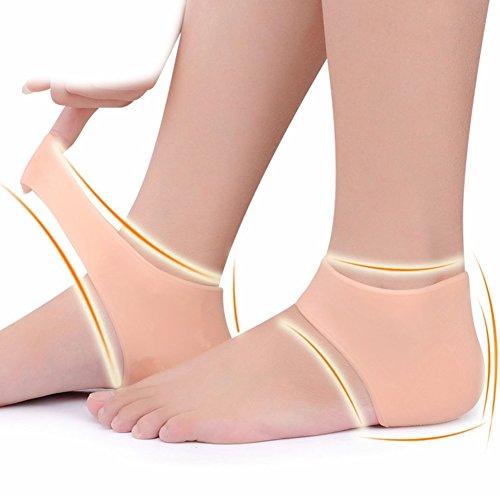 I1 Silicone Gel talon manches chaussettes peau soin hydratant protéger comme pied fissuré