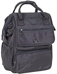 Lug Womens via Tote Backpack, Fog Grey, One Size