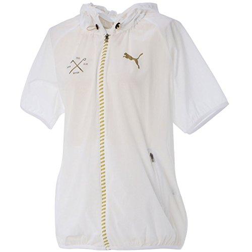 PUMA(プーマ) 923552 半袖 パッカブル ジャケット レディース ゴルフウェア ホワイト L