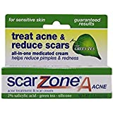 Sudden Change Scar ZoneA Acne Treatment & Scar Diminishing Cream with Green Tea for Sensitive Skin, .5 oz.