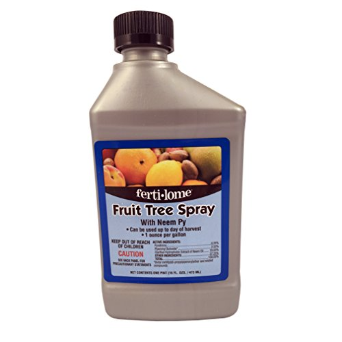 Voluntary Purchasing Group Fertilome 10131 Fruit Tree Spray With Neem, 16-Ounce (Best Organic Fruit Tree Spray)